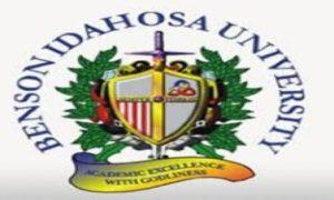Benson Idahosa University Admission List