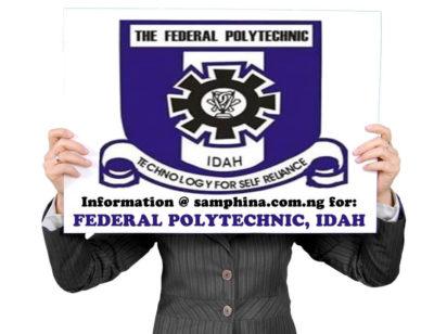 Idahpoly Admission List
