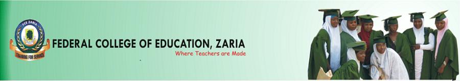 FCE Zaria Pre-NCE Admission Form