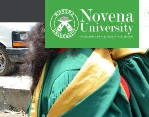 Novena University Postgraduate Admission Form