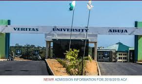 Veritas University School Fees