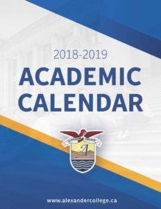 Novena University Academic Calendar