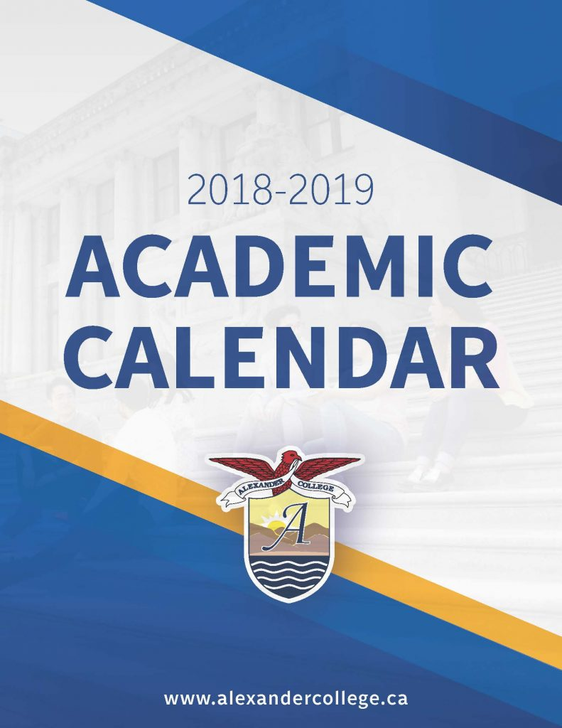 BIU New Academic Calendar