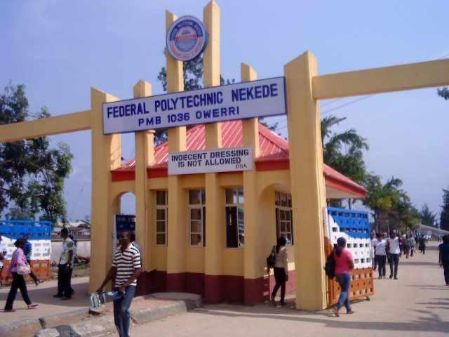 Federal Poly Nekede HND Admission Form