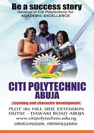 Citi Poly HND Admission Form